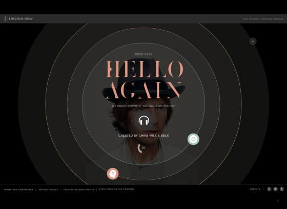 Captura web Hello Again