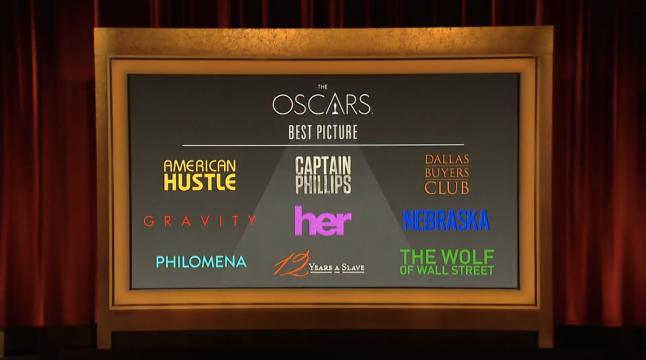Nominaciones Oscars